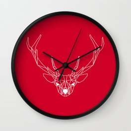 Deer III Wall Clock