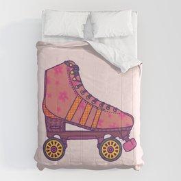 Pink  Rollerskate Comforters