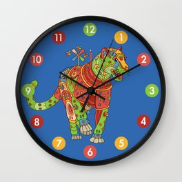 Jaguar, cool wall art for kids and adults alike Wall Clock