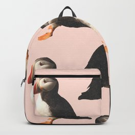 Puffin Pattern Backpack