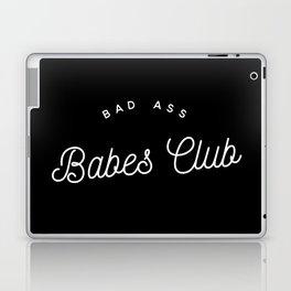 BAD ASS BABES CLUB B&W Laptop & iPad Skin