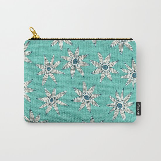 sema mint blue Carry-All Pouch