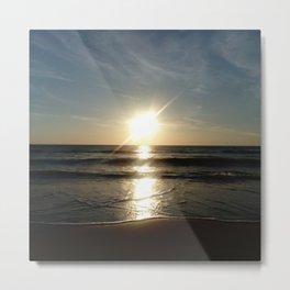 Oceanic landscape: Lacanau  10 Metal Print