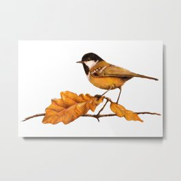 On The Oakleaf Metal Print