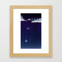 The Fall of Rain Framed Art Print