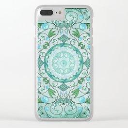 Balance of Nature Healing Mandala Clear iPhone Case