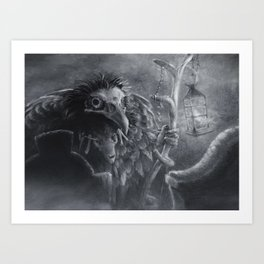 Bonemancer Art Print