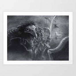 Bonemancer Art Print