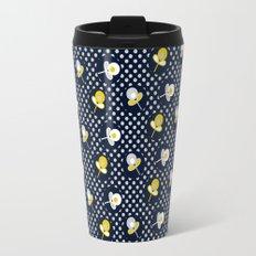retro paisley flower Travel Mug