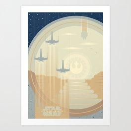 Ships of the Force Awakens Art Print