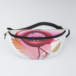 Flamingo Rider Fanny Pack