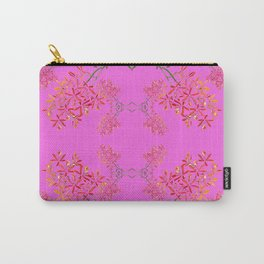 Orchids on Lavender Carry-All Pouch