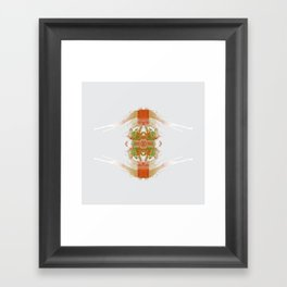 Inknograph IV - Ink Blot Art Framed Art Print