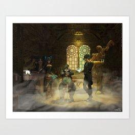 Steampunk Syndicate Art Print
