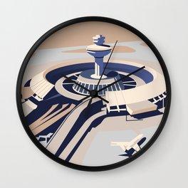 Soviet Modernism: Zvartnots airport, Armenia Wall Clock