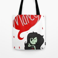 marceline Tote Bags featuring Marceline by dartty