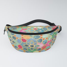 Gilt & Glory - Colorful Moroccan Mosaic Fanny Pack