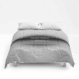 Halftone Lips Comforters