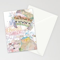 wildly about. Stationery Cards