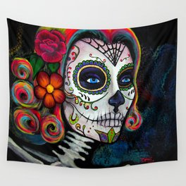 Sugar Skull Candy Wall Tapestry