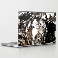 gandalf Laptop & iPad Skins featuring Gandalf by Patrick Scullin
