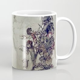 """The Fairies Ascent"" by A. Duncan Carse Coffee Mug"