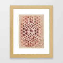 Purely Perceived Framed Art Print
