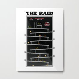 The Raid Metal Print