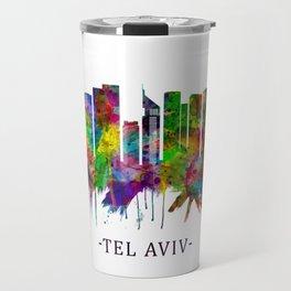 Tel Aviv Israel Skyline Travel Mug