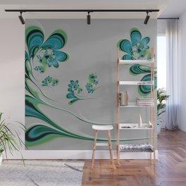 In the Garden Wall Mural