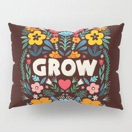 GROW floral Pillow Sham