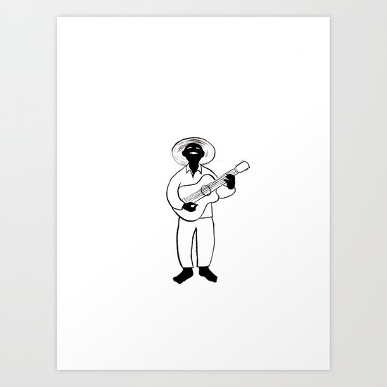 Leadbelly Art Print
