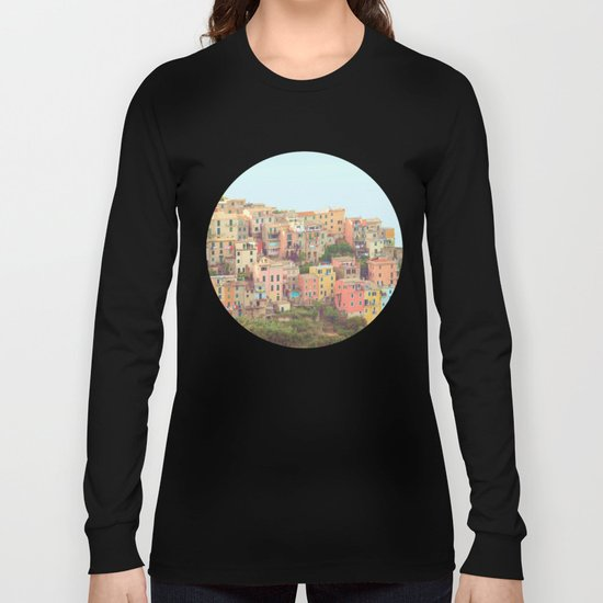 Colorful Houses Long Sleeve T-shirt