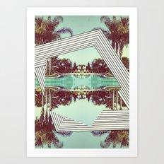 Tropics Trip Art Print