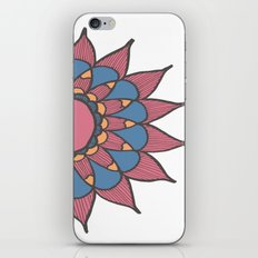 Abstract Sunflower iPhone & iPod Skin