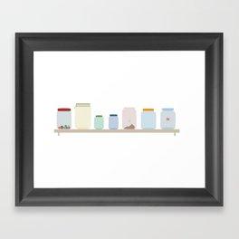 Jars Framed Art Print
