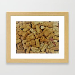 Corks 3 Framed Art Print