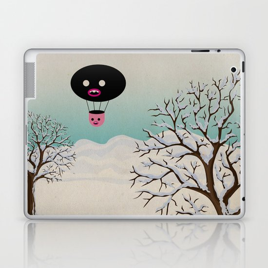 b r r r Laptop & iPad Skin