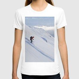 Skiers at Hatcher Pass (2) T-shirt