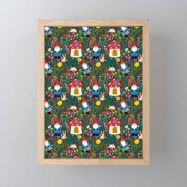 Gnome Home Framed Mini Art Print