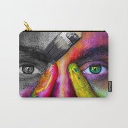 A World with Color Carry-All Pouch