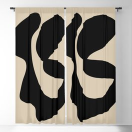 Abstract 121 Blackout Curtain
