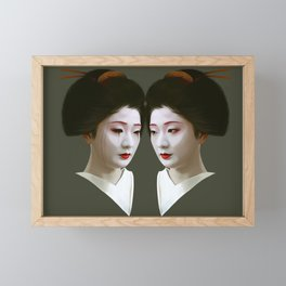 Geiko Framed Mini Art Print