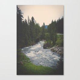 Through the Hills of Montana Canvas Print