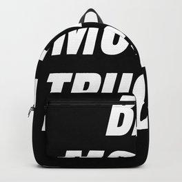 Bad Mother Trucker Backpack