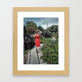 Hats Off to You Framed Art Print