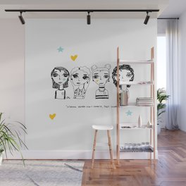 Let's Collaborate Wall Mural