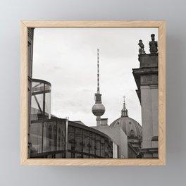 German Historical Museum and German Dome in Berlin Framed Mini Art Print