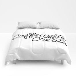 Caffeinate and Create Comforters