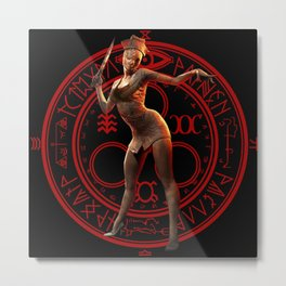Silent hill-save game Metal Print